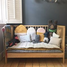 Camomile london is a british designer collection of contemporary, stylish nursery, children& bedding and interiors. Baby Cot Bumper, Childrens Beds, Baby Bedroom, Kid Spaces, Beautiful Space, Kids Decor, Baby Sleep, Kids Room, Toddler Bed