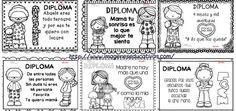 Diplomas para colorear del día de las madres. 10 de Mayo PORTADA                                                                                                                                                                                 Más