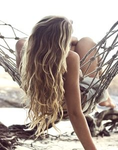 Beach Hair. I usually spray in a leave in conditioner and let air dry.