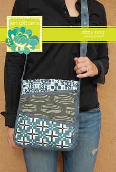 PDF Zippy Bag Sewing Pattern