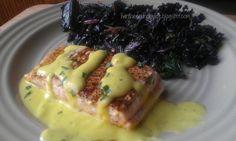 Pan-fried Salmon with a Creamy Meyer Lemon Vinaigrette | fastPaleo Primal and Paleo Diet Recipes