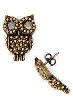 Owl Dressed Up Earrings | Mod Retro Vintage Earrings | ModCloth.com