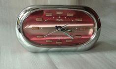 Orologio vintage Rhythm Yapan, transistor, suoneria
