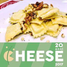 In occasione di #cheese2017 la boutique della pasta #Rizzelli presenta: RAVIOLI RIPIENI DI GORGONZOLA DOP E MOSTARDA DI PERE!!!