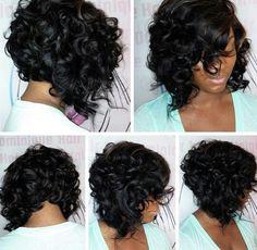 Curly BoB....