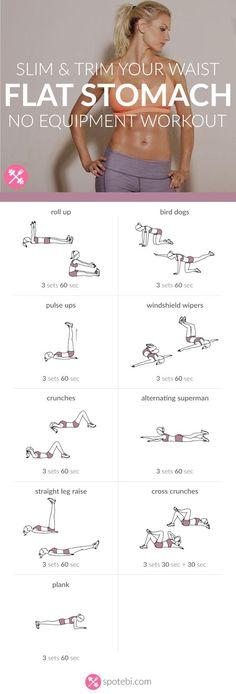 Flat Stomach Workout | Medi Villas