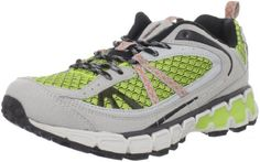 "Mountrek Women's Winding Trail Running Shoe Mountrek. $40.14. Manmade sole. Heel measures approximately 1.5"". synthetic. Made in China"
