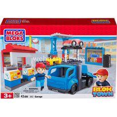 Mega Bloks BLOKTOWN GARAGE OYUN SETİ Lego Oyuncakları Fiyat:69,95 TL Stokta Var.     Mega Bloks BlokTown Garage Oyun Seti  Mega Bloks BlokTown G