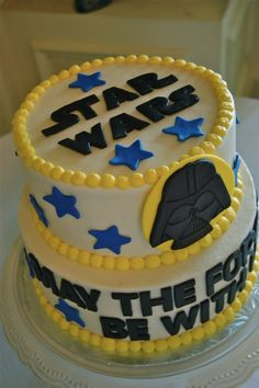 Matt and Alison's Star Wars Groom's Cake