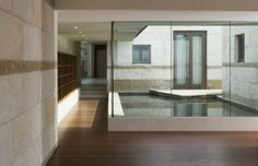 by Sutton Suzuki Architects-- I like that the pool seems to be part of the interior as much as the exterior.