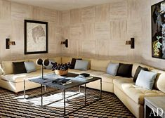 Rustic Media/Game Room by Stephen Sills Assoc. and Menendez Architects in Aspen, Colorado