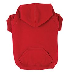 Basic Dog Hoodie - Tomato Red for Sophie - just like daddy :)