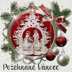 Christmas Images, Christmas And New Year, Christmas Bulbs, Merry Christmas, Wallpaper, Holiday Decor, Praha, Home Decor, Xmas