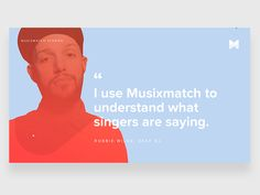 There are many interesting stories about users who use Musixmatch app.   This visual that I worked on is related to the amazing story of Robbie Wilde, deaf Dj, which uses Musixmatch to read lyrics ...