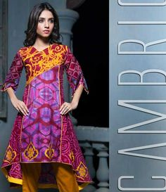 Monsoon Printed Cambric Suit collection By Al-Zohaib Textile AZ_8B