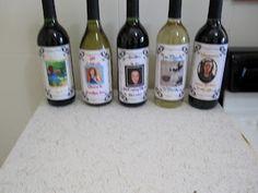 Miss Mel + Miss Heather: DIY: Wine Labels
