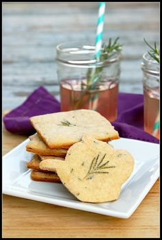 Rosemary Lavender Shortbread portrait by What About Second Breakfast? @Shirley G