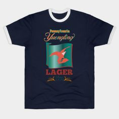 Pennsylvania Yuengling Lager - Yuengling Lager Beer - T-Shirt Lager Beer, Tees For Women, Hoodies, Sweatshirts, Brewery, Pennsylvania, Mens Tops, T Shirt, Supreme T Shirt