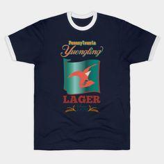 Brewing Legend ? Pennsylvania Yuengling Lager - Yuengling Lager Beer - T-Shirt | TeePublic Lager Beer, Tees For Women, Hoodies, Sweatshirts, Pennsylvania, Brewing, Long Sleeve, Mens Tops, T Shirt