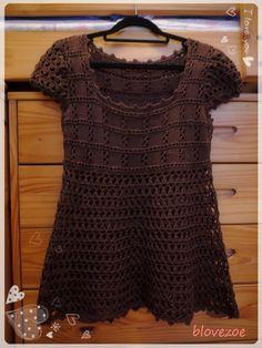 Combinación de ganchillo de la ropa de verano simplicidad - blovezoeqian - Thlaspi · Sin