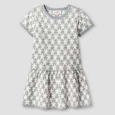 Baby Girls  Stars Sweater Dress Gray - Cat  amp  Jack   Target Girls Sweater 3b90ed8e3