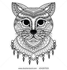 Stock Images similar to ID 277674818 - cat illustration