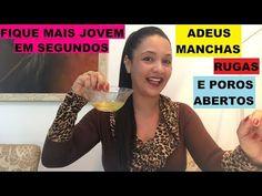 ADEUS MANCHAS-RUGAS E POROS ABERTOS!!!VOCÊ MAIS JOVEM EM SEGUNDOS!NA HORA! - YouTube