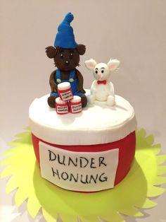 Bamse och lille skutt tårta
