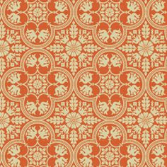 Historic Tile in Tangerine - absolutely gorgeous.   love love love it
