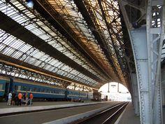 Lviv, Ukraine train station I will never forget my train rides in the Ukraine! Fantastic!
