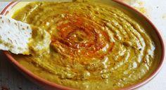 Bissara purée de pois cassé Direction le Maroc avec cette soupe ou velouté de pois-cassé app...