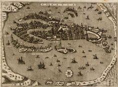 Map of Venice (1572)