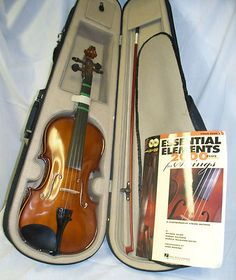 PALATINO VN-450 VIOLIN WITH CASE,BOW,ROSIN AND MUSIC BOOK EXCELLENT CLEAN CONDITION  STARTING AT $99.98