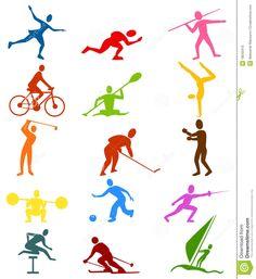 Sports Icons Royalty Free Stock Photo - Image: 18543415