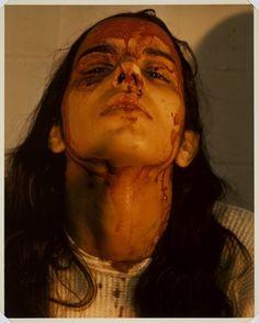 Ana Mendieta - Untitled (Self-Portrait with Blood)