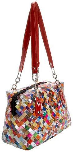 Candy Wrapper Shoulder Bag