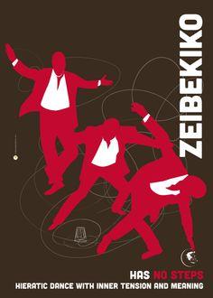 Tribute to Rebetiko Greek Music this time showing Greek folk music Zeibekiko by Maria Papaefstathiou