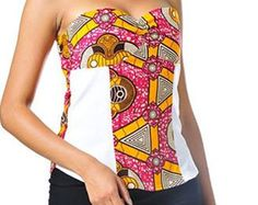 African Print Dress van ALLEONCOLOGNE op Etsy
