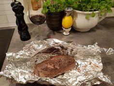 VERDENS MØRESTE BIFF av helstekt mørbrad: 8 timer på 50°C! - HA-bloggen Food And Drink, Beef, Blogging, Meat, Steak