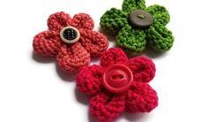 Des fleurs au tricot superfaciles