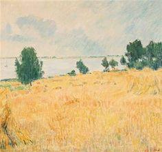 Danish summer scenery by Sigurd Swane