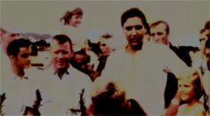 In august 15 1965 Elvis, Vernon and the Colonel visited the USS Arizona in Hawaii. Here with fans.