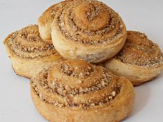 Sweets Recipes, Bagel, Muffins, Food And Drink, Bread, Cookies, Breakfast, Crack Crackers, Morning Coffee