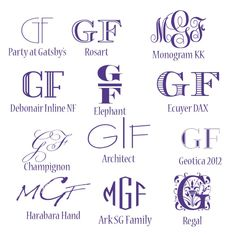 Free Monogram Fonts – My Graphic Fairy - insightful. Cricut Monogram Font, Vine Monogram Font, Art Deco Monogram, Monogram Maker, Initial Fonts, Diy Monogram, Cricut Fonts, Monogram Letters, Monogram Fonts Free