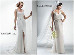 What style of bride are you?! The Goddess Bride? #w101nashville #nashvilleweddings #weddingdresses #weddinghair #goddessbride #GlitzNashville