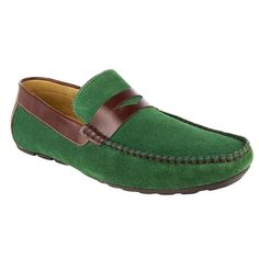 013-166 Mocasin Caballero Terra - Verde