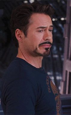 Robert Downey Jr as Tony Stark: So much sass in one picture.  :)