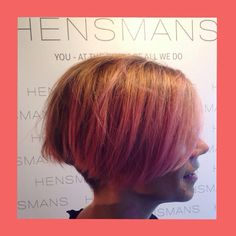 Schwarzkopf ColorWorx on our Leah