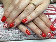 #beautiful #rednail #nail #nailart #red #love
