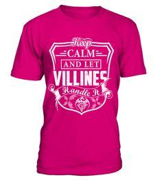 Keep Calm VILLINES - Name Shirts violin T-shirt